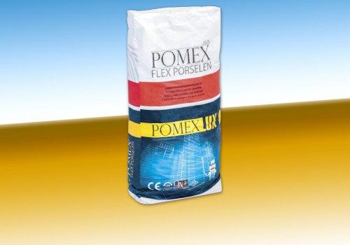 چسب پودری پرسلان پومکس  قابل استفاده در بدنه و کف 100% ضد اب  مناسب برای نمای بیرونی و داخلی ساختمان