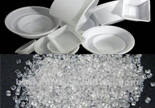 پلی استایرن معمولی GPPS پلیمری کاملا شفاف و مقاوم است که بسته بندی مواد غذایی ،پرکاربردترین زمینه مصرف آن به شمار می آید. از جمله رایج ترین کاربردهای دیگر این پلیمر تولید CD ظروف یکبار مصرف و ... است.این پلیمر بسیار فرایند پذبر ،ارزان ، بی بو ، بدون مزه و مقاوم در برابر اشعه X میباشد.