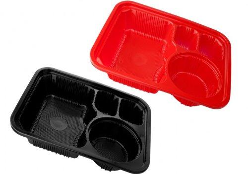ظروف کترینگی دارای مجوز بهداشت و قابل استفاده در دستگاه ماکروویو