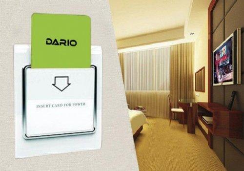 پاور سوئیچ Power Switch پاور سوئیچ با کلید قطع و وصل هوشمند برق اصلی در کنار درب ورود به اتاق هتل نص