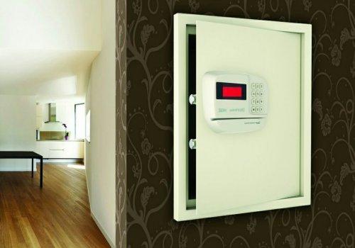 صندوق ضد سرقت و ضد حریق دیجیتالی کارتی Anti Theft & Fire Digital-Card Safety Box دارای موتور داخلی