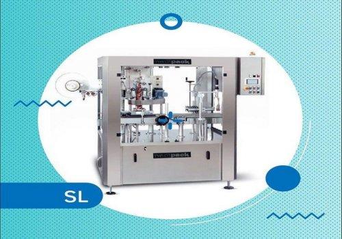 دستگاه بسته بندی شرینک لیبل ( غلاف انداز ) اتومات تولید شرکت تحول کالای نوین با برند نادی پک مناسب ج