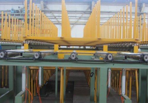 دستگاه رپینگ و کولینگ خط ساندویچ پانل ساخت شرکت فنی مهندسی افشار