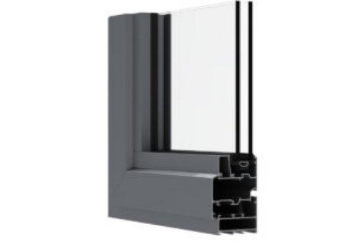HN 55 | سیستم پنجره لولایی نرمال سیستم HN 55 طیف گسترده ای از پروفیل های غیرعایق برای ساخت فریم های