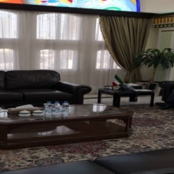 دیدار مدیر عامل شرکت سهامی نمایشگاه های بین المللی با سرکنسول ایران در دوبی