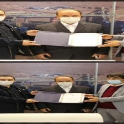 تقدیر از غرف برتر در رعایت پروتکل های بهداشتی با حضور دکتر زرندی معاون وزیر صمت