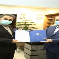 امضای تفاهم نامه همکاری بین شرکت سهامی نمایشگاه های بین المللی و سازمان سرمایه گذاری ایران