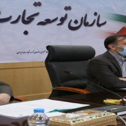 حضور دکتر زمانی در جلسه کارگروه توسعه صادرات وزارت صمت